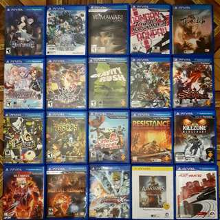 Ps Vita Games And Accesories