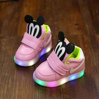 Kids Mickey LED Shoes
