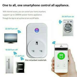 Wifi Smart Plug Socket (remote by mobileApps)