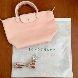 Light Pink Longchamp Neo With Dustbag Authentic Quality