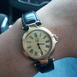 Authentic Dunhill Watch Gold Plated 18k Original