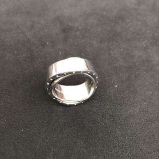 Montblanc sterling silver ring for unisex