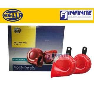 Hella Ret Twin Tone Car Horn Set