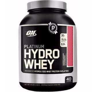 (SALE!!!) Optimum Nutrition Platinum Hydrowhey 3.5lbs
