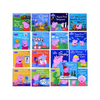 17 Peppa Pig Book Set Brand New Sealed Set New