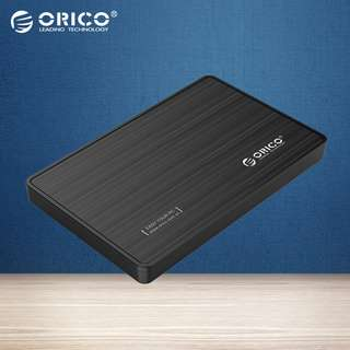 Orico 2588US3 2.5 Hard Disk HDD SSD External Enclosure USB 3.0 SATA Black