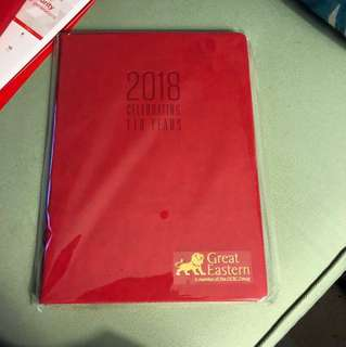 Great Eastern 2018 Management Diary