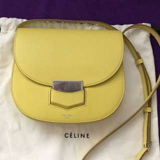 Celine 2017 color Trotteur Purse
