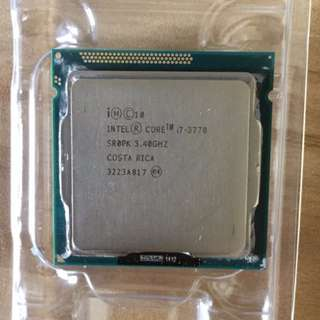 Intel Core i7 3770 CPU