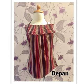Blouse Sabrina Salur Red