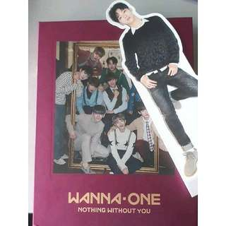 [WTS] Album + Standee (Wanna One Nothing Without You One Ver)