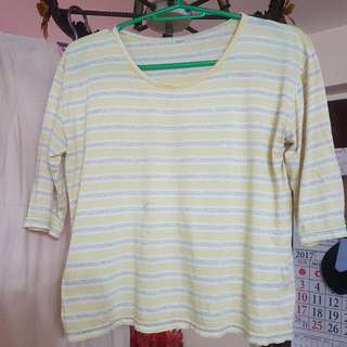 yellow hanging/boxy