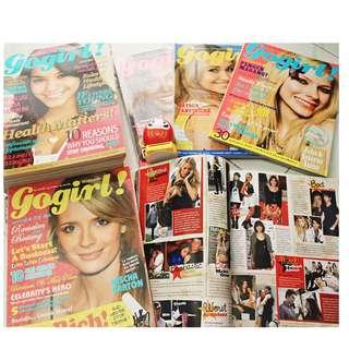 Majalah kolpri GoGirl Edisi Desember 2006 - Maret 2008