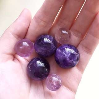 Amethyst Crystal Beads