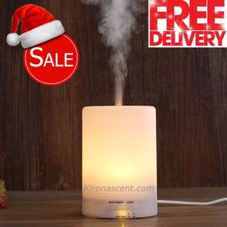 [Best Christmas Gift / Present] 100ML Aroma Diffuser with LED Night Lights. Humidifier & Air Purifier. Free 30ml Essential Oil. SALE!!