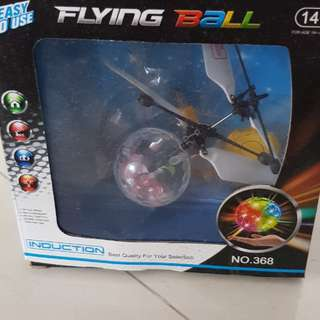 flying ball remote toy rainbow colour