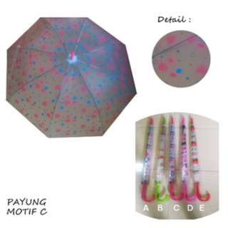 CMRPYG - Best Seller Payung Cantik Motif C