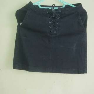(Reprice) Colorbox Stretch Denim Skirt