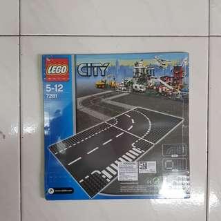 Lego City 7281 (2 plates)