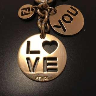 Fendi keychain ($100 now!)