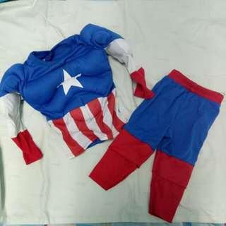 captain america (muscle costume)