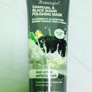 FREEMAN Charcoal & Black Sugar Polishing Mask -175ml