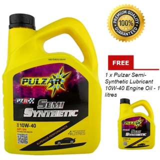 Pulzar Semi-Synthetic Lubricant 10W-40 Engine Oil