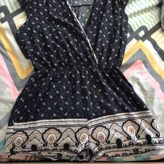 Ice Paisley Playsuit
