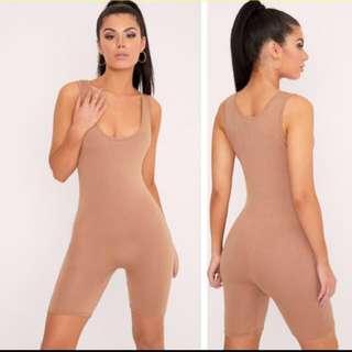 Nude one piece