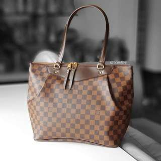 Authentic Louis Vuitton Damier Ebene Westminster GM LV