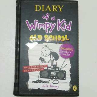 Diary of a Wimpy Kid - Old School (Hard cover)