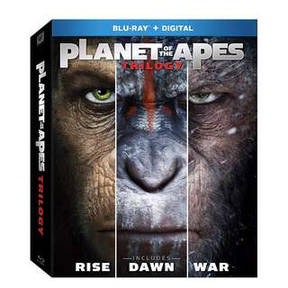 🌲Christmas Sales 35 ❄: 🆕 Planet of the Apes Trilogy Blu Ray