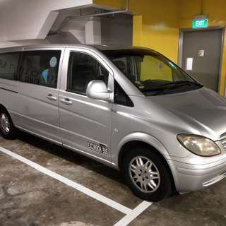 Limo Driver wanted for 9 seater Vito