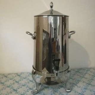 Stainless steel coffee urn 19L