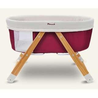 Adorbaby Pouch H26 Red Baby Travel Crib/Cot, Infant Travel Bed/Sleeper, Baby Dream Portable Cot 可愛bb 小愛包 H26紅色 嬰兒旅行嬰兒床/旅行床,便攜式