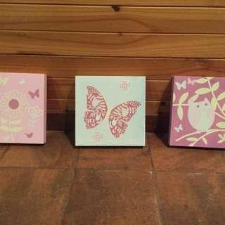 Fairy garden tile prints