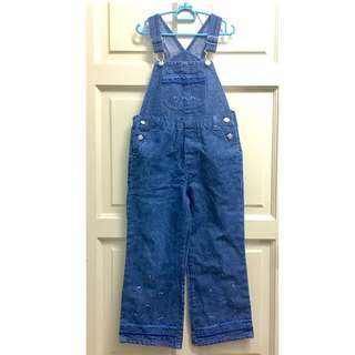 Overall Glitter Jeans 5Y