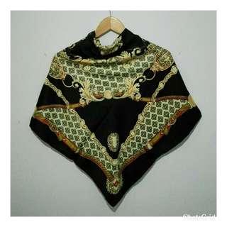 Classic Square Hijab Black Series