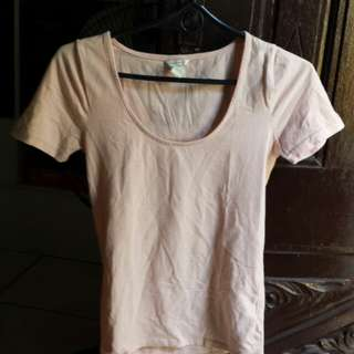 Forever 21 blush/nude top