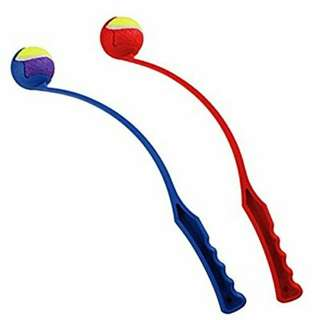 Dog Ball Thrower with Ball NEW