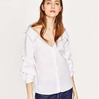 PO / ZARA LINE: Misty Off Shoulder Blouse