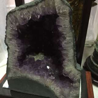 Medium purple crystal