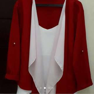 Outer red