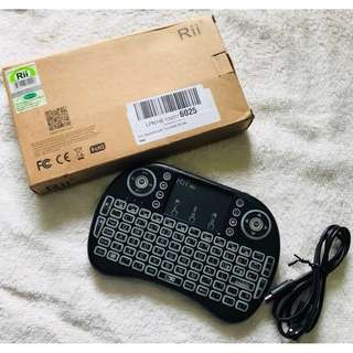 (NEW;LOWEST) Rii Wireless Touchpad Keyboard Mouse