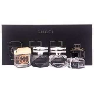 Gucci Corporate Miniature Set 4 x 5ml (L)