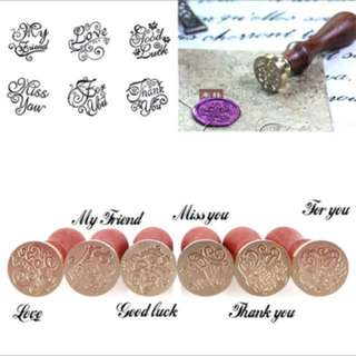 BN Seal Wax Stamps