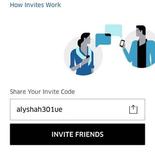 Sign up with this code and get your first uber ride free!!