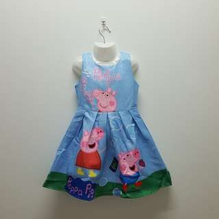 PEPPA PIG DRESS - BLUE