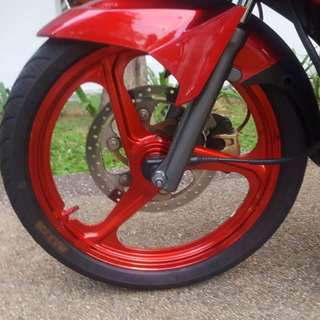 Enkei fullchop candy red