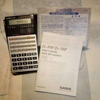 Casio 電子計算機 fx-50F